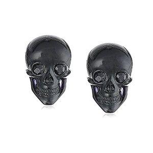 Tarina Skull Post Earrings